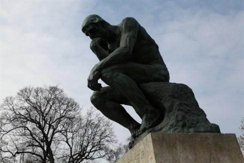 Parigi - Museo Rodin - Il Pensatore