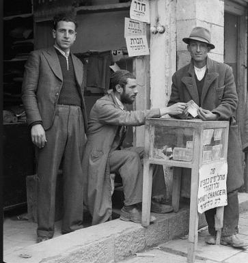 Il cambiavalute ebreo