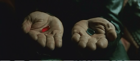 pillola rossa