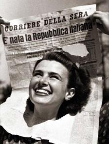 Donna simbolo - nascita-repubblica-italiana