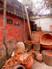 Clay Pots in Los Dominicos