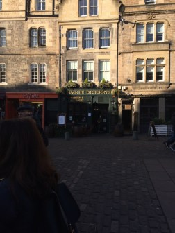Maggie DICKSON'S Pub! Unlikely relation, but possible haha!
