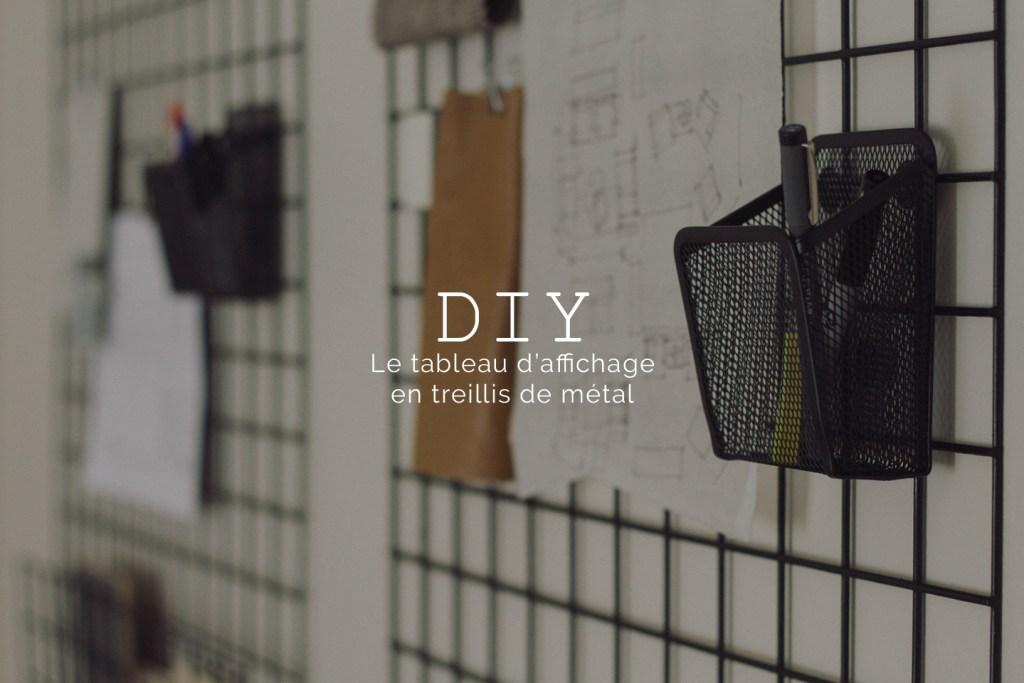 blog deco meshboard DIY