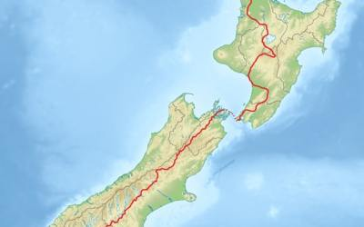 We've Just Booked in Walking 3000 km across New Zealand