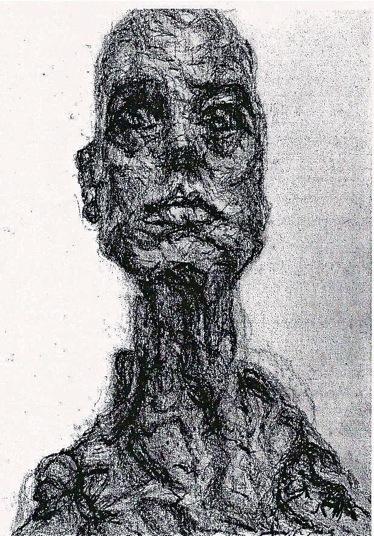 Alberto Giacometti Gabrielle Shallish