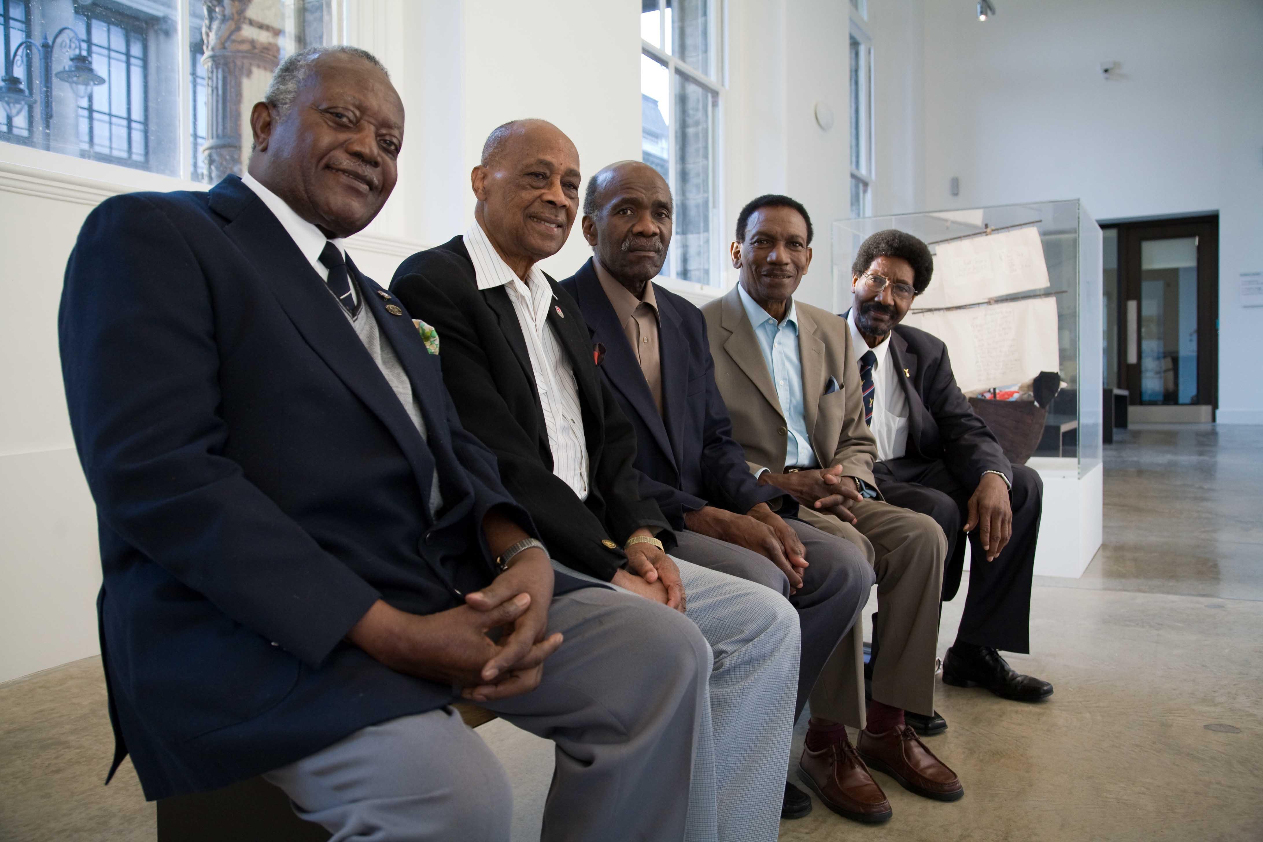 War Veterans from the West Indian Ex Service Association.  Image credit: Elston Ruddock