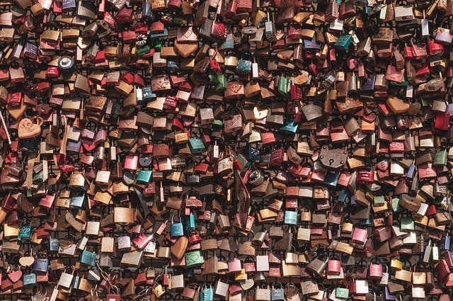 2 Simple Tips To Find Your Voice 10X Faster And Love It! Image of wall of locks which you can unlock freeing people from their prisons.