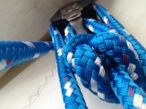 Bowline in the mainsheet