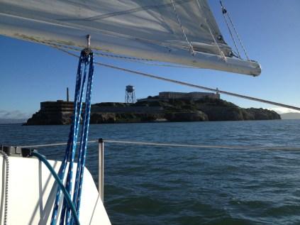 Passing Alcatraz