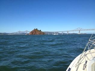 Approaching Red Rock