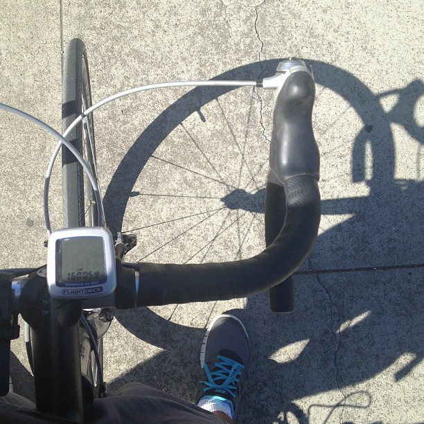 Afternoon commute home - beautiful day!