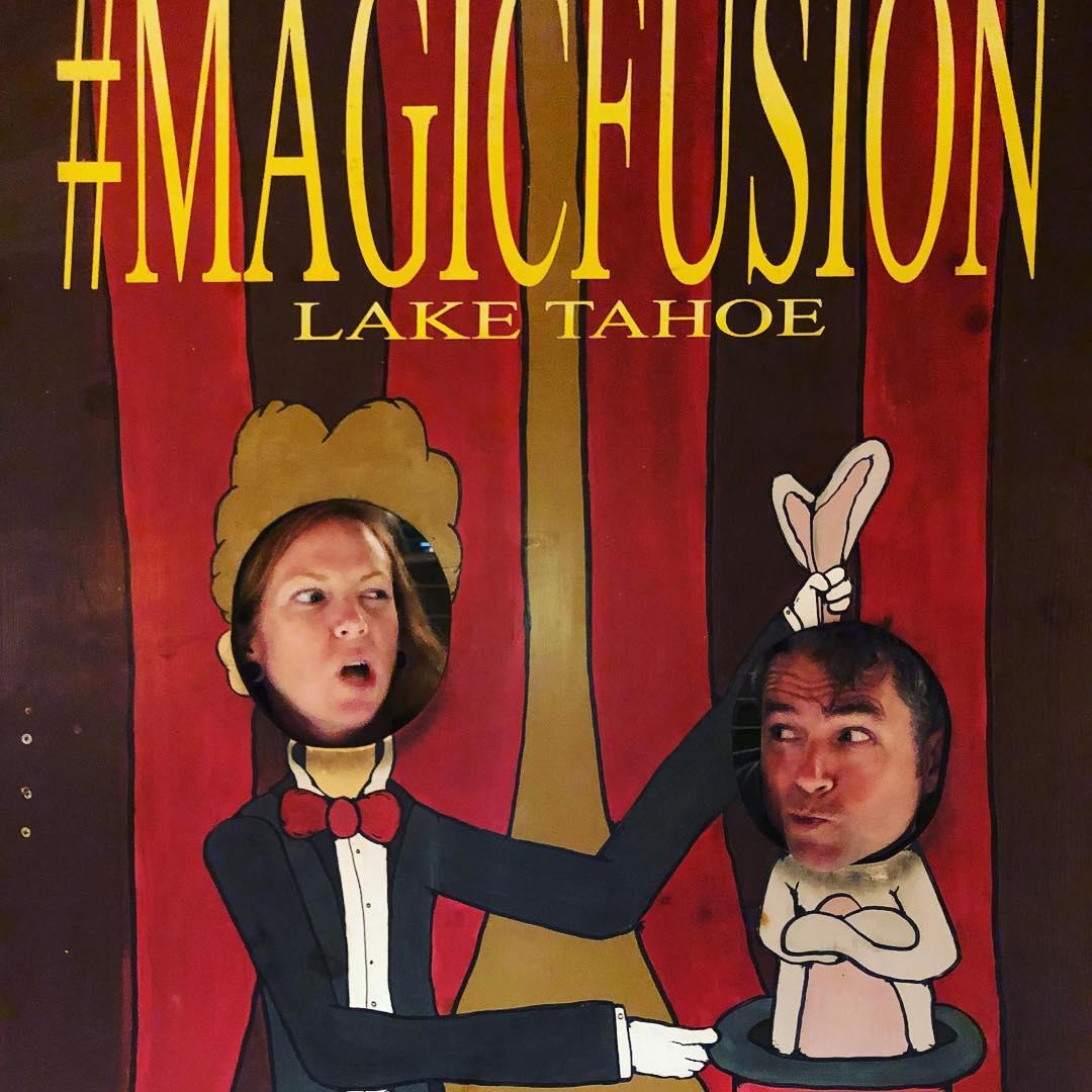Amber enjoyed the magic show!