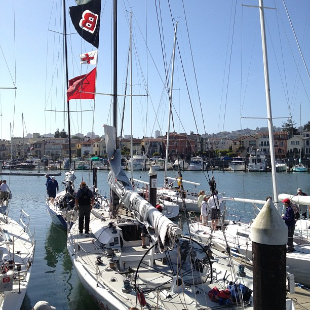 Beautiful day for a regatta