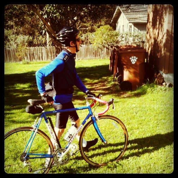 Bike ride in Napa