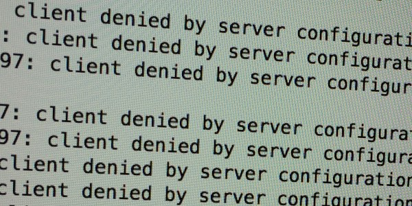 Client denied by server configuration - protect wp-login.php