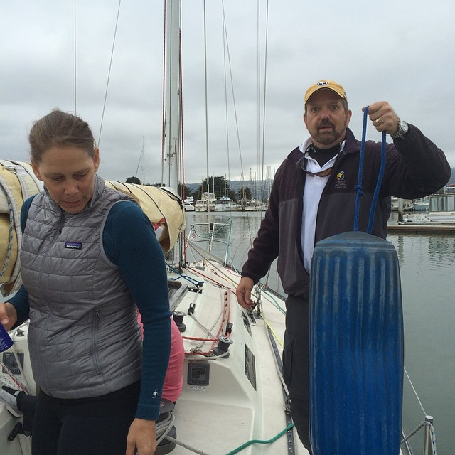 Heading out for the 2015 OYRA Farallones race