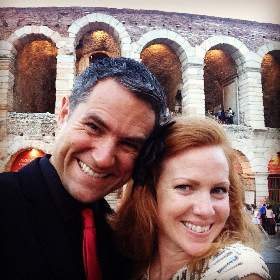 Madame Butterfly opera at the 2000 year old Verona Arena. Simply superb.