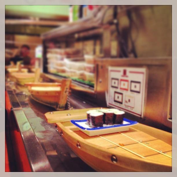 Mmm boat sushi
