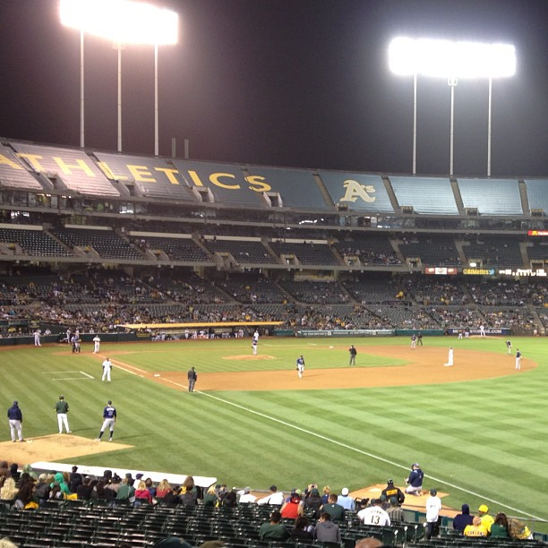 Still @theasgame - 11th inning 3-3 go @athletics!