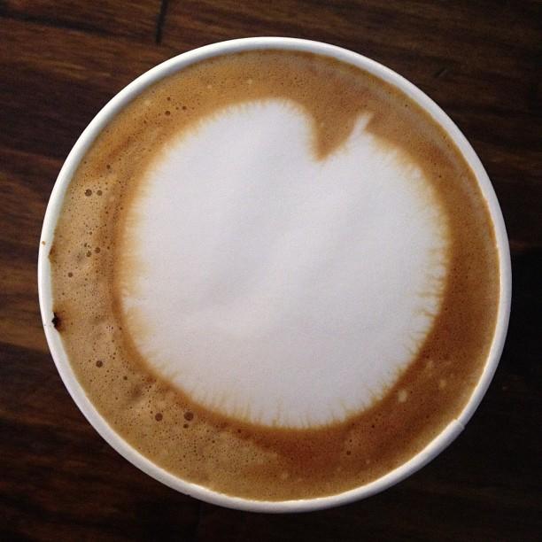 Tasty post sushi walk latte