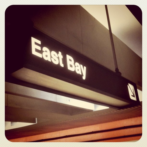 This way to the East Bay