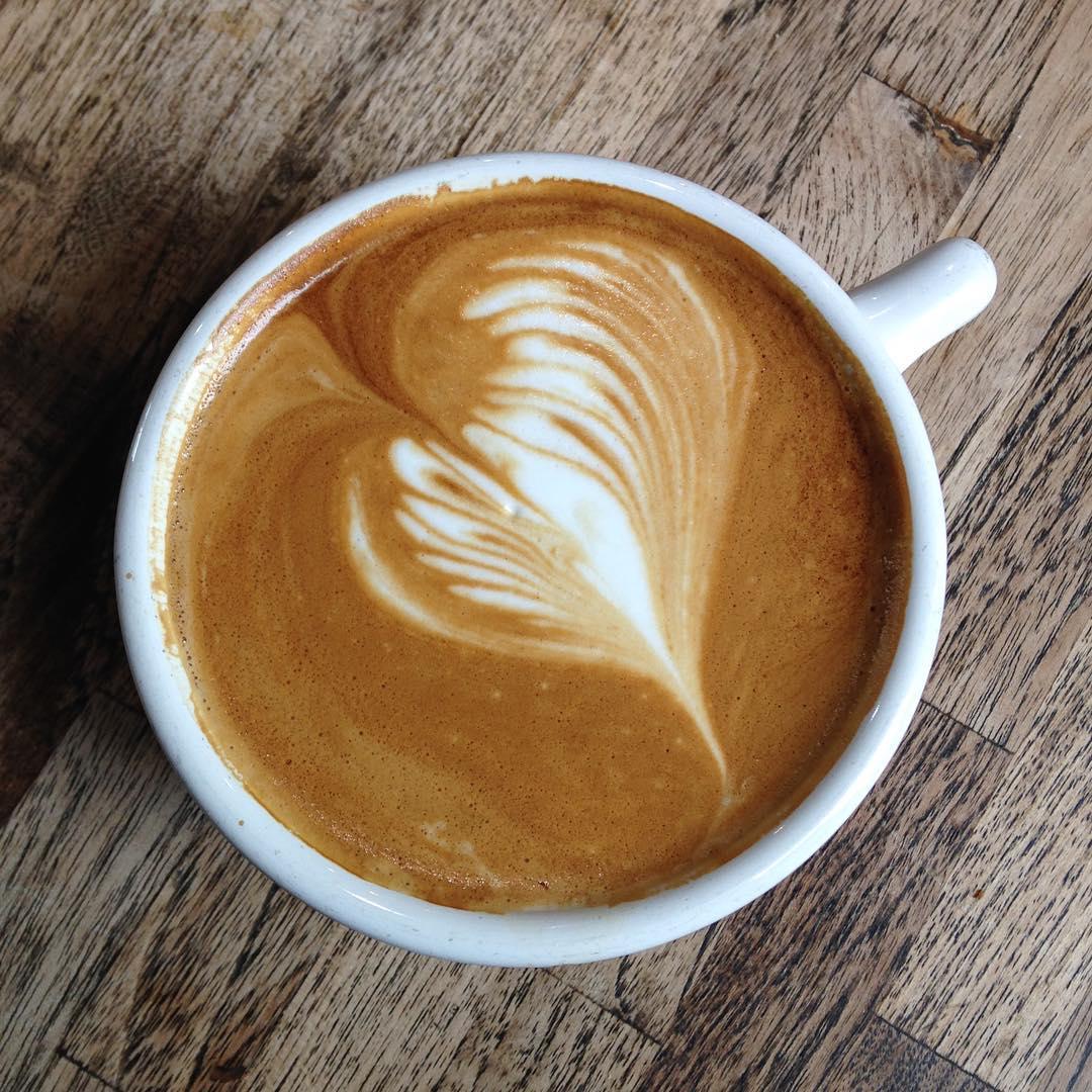 Very nice latte
