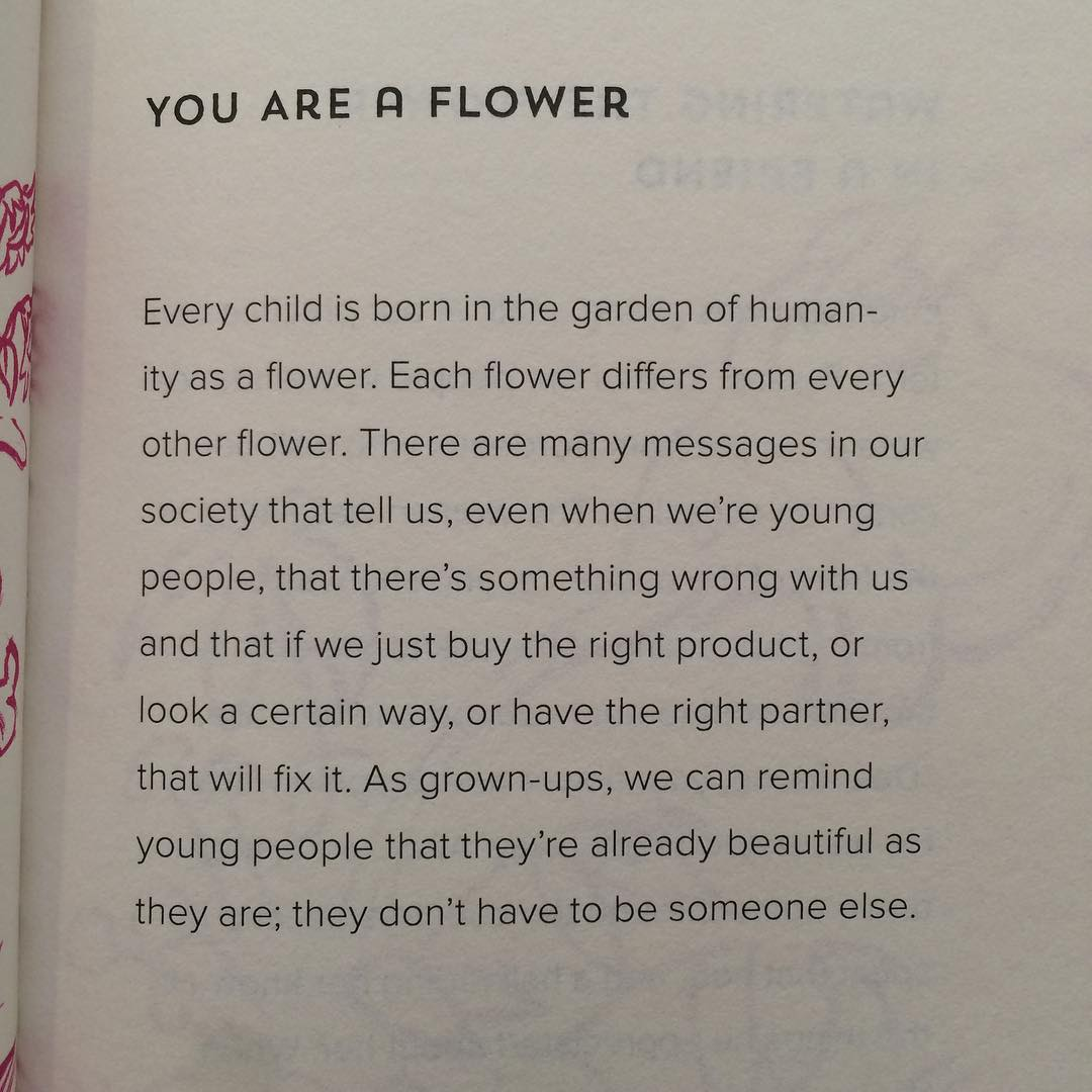 You are a flower