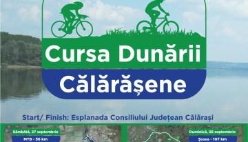 Cursa Dunării Călărășene – concurs de ciclism off-road și șosea pe malul Dunării