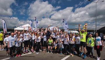 Un nou record la Wings for Life World Run