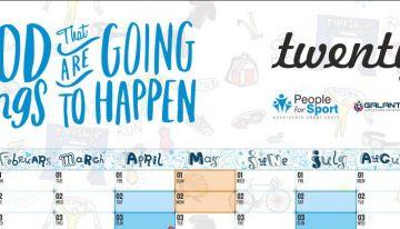 Calendar/Planner sportiv 2016
