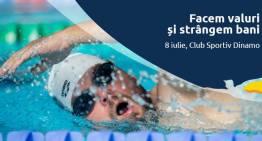 Valuri de bine la Swimathon București 2017