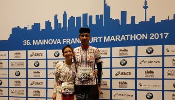 Cum fu la Frankfurt Marathon