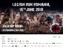 Prinde taxa redusă la prima ediție Legion Run