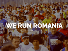 We Run Romania