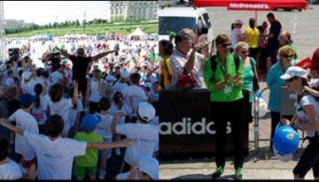 Cautam curajoși pentru voluntariat la Cursa Copiilor la Bucharest HalfMarathon
