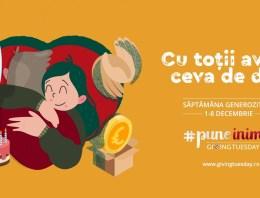 #PuneInimă de GivingTuesday