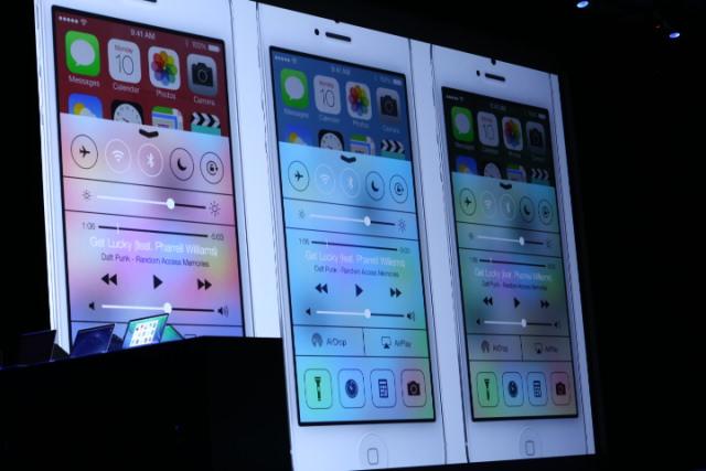 interfata iOS 7