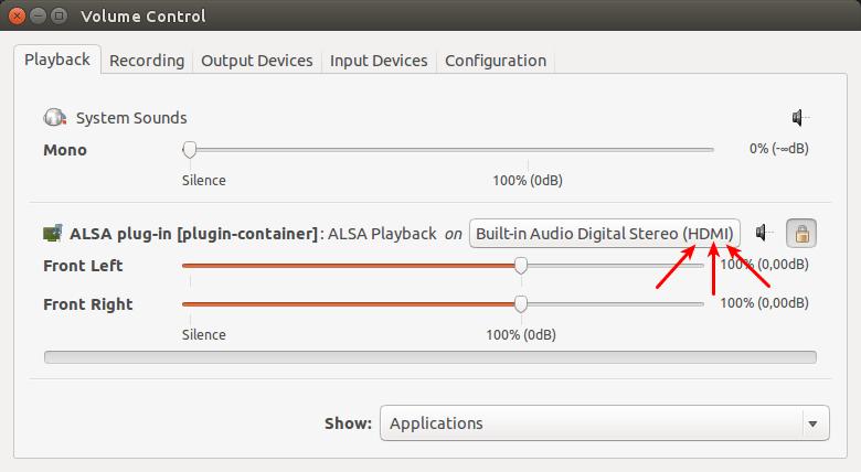 Cómo transmitir audio a través de HDMI en Ubuntu 14 04 - Gabuntu