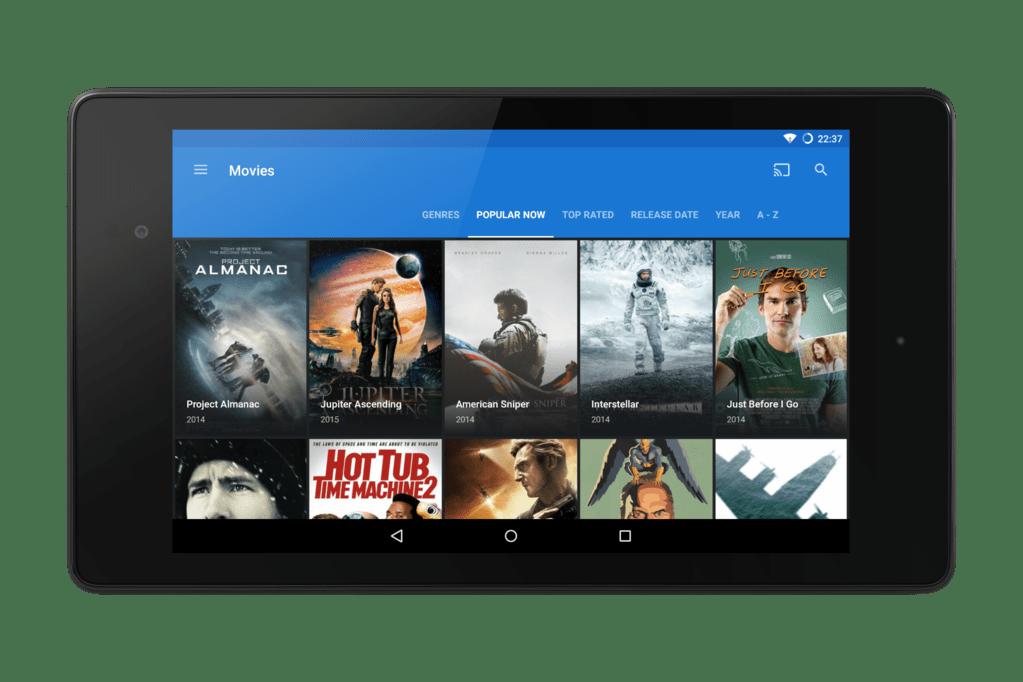 Popcorn Time para Android añade subtítulos en Chromecast
