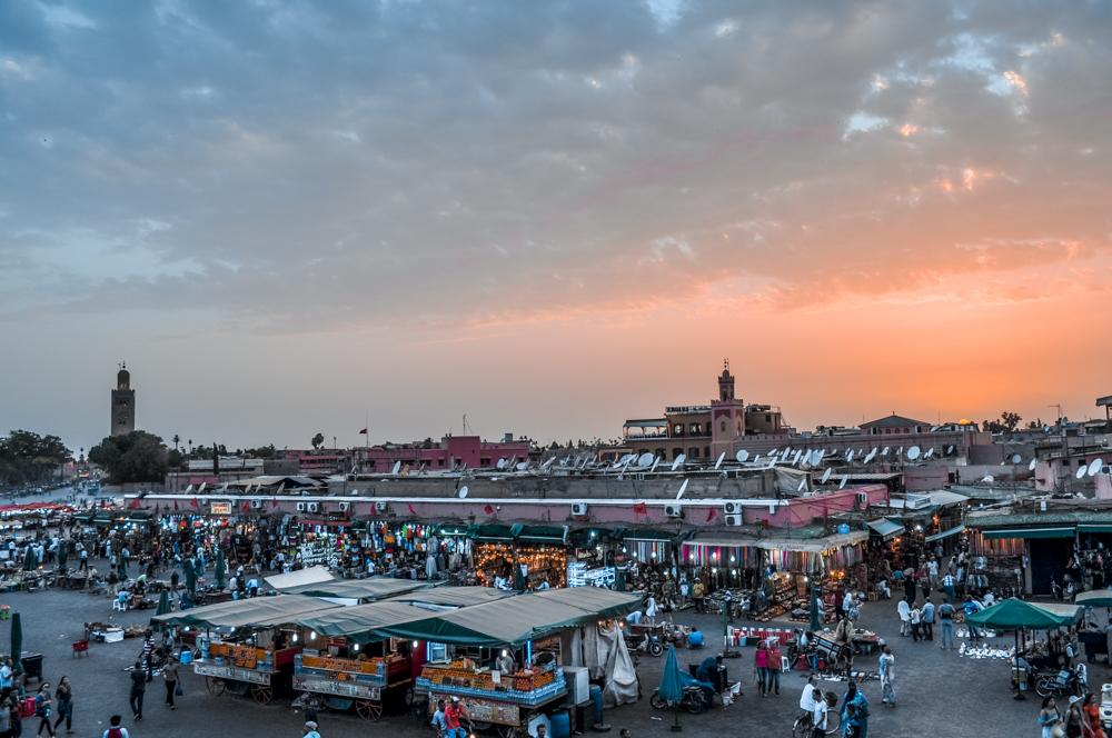 Piața Jemaa el-Fnaa