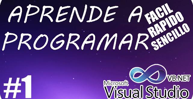 como programar en vb.net