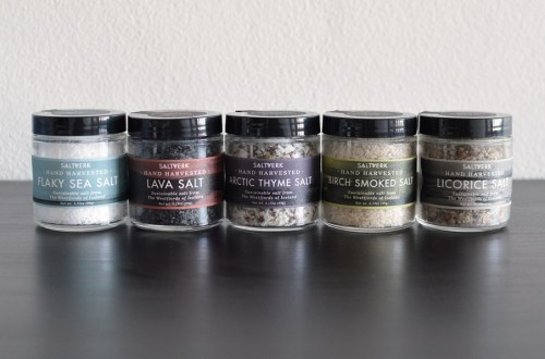 Saltverk artisanal sea salt