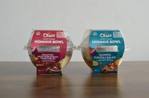 Obela Plant Based Hommus Bowls