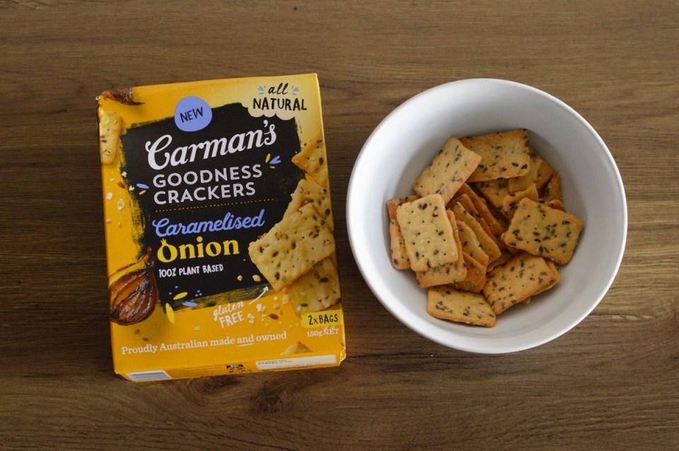 Goodness Crackers Caramelised Onion