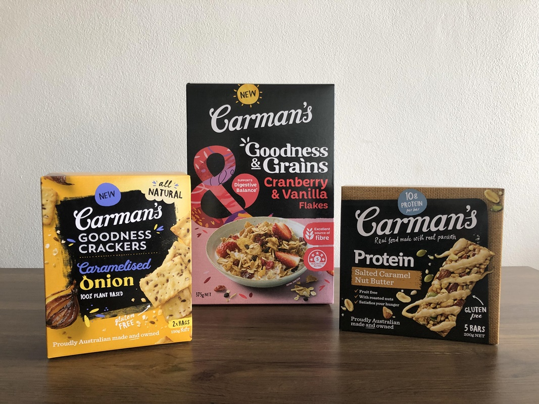 Carman's Goodness range