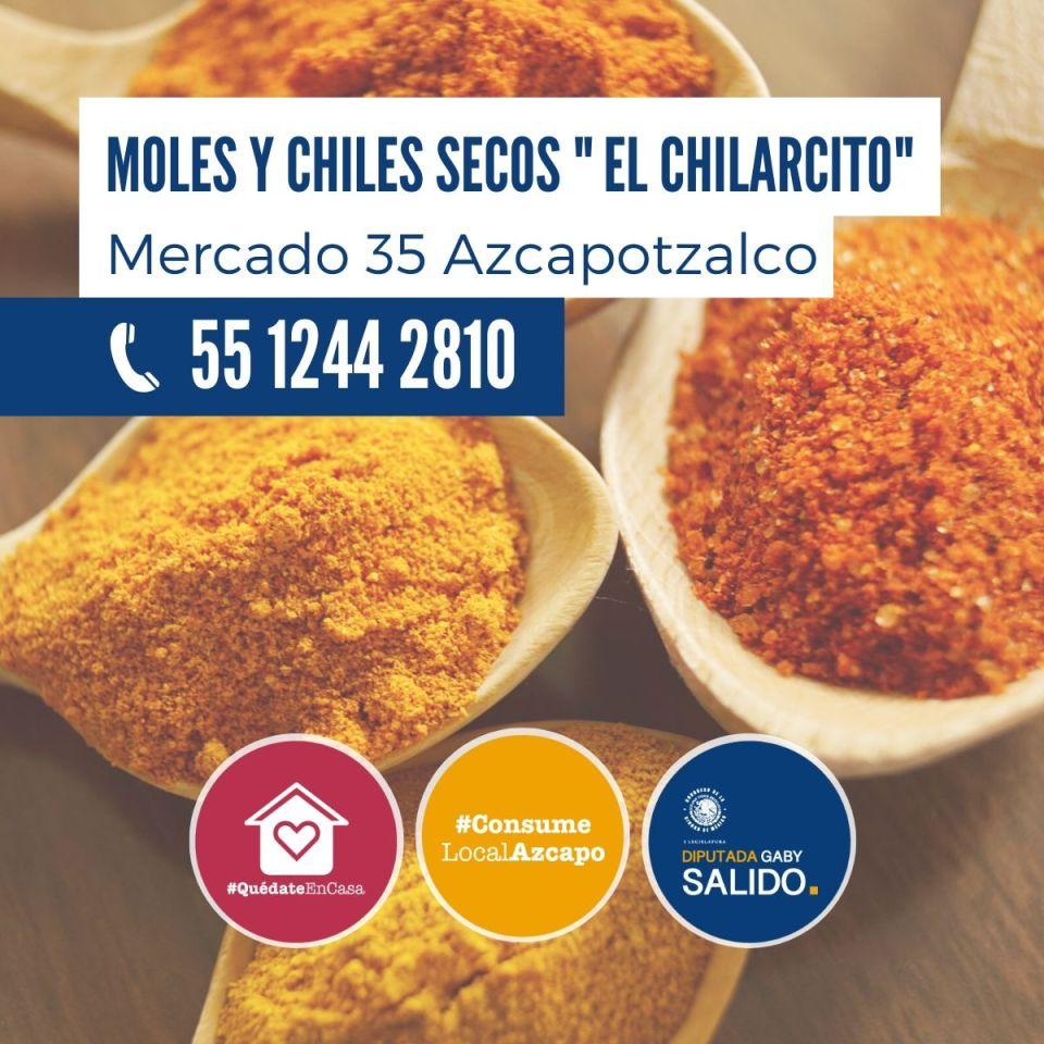 Moles y chiles secos «El Chilarcito»
