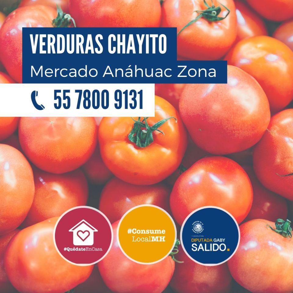 Verduras «Chayito»
