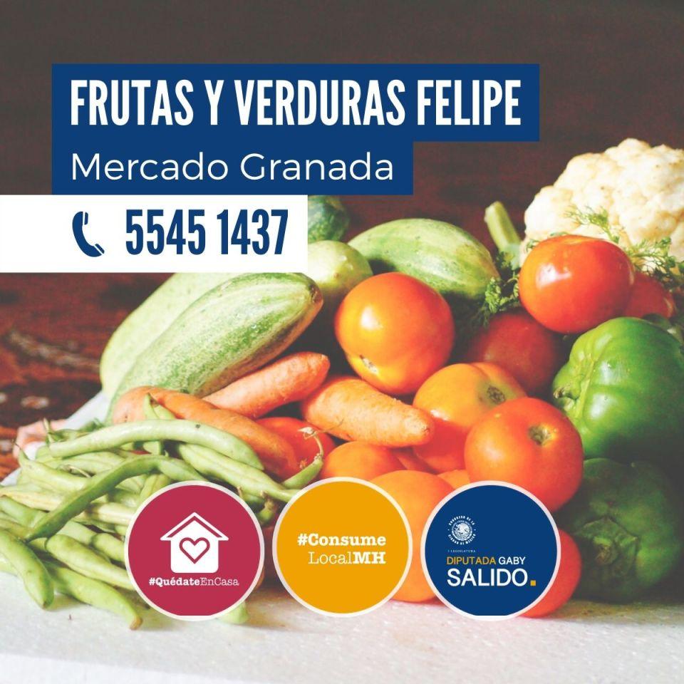 Frutas y verduras Felipe