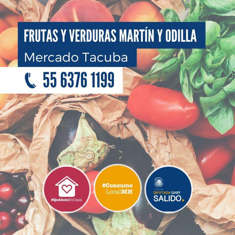 Frutas y verduras Martín y Odilla