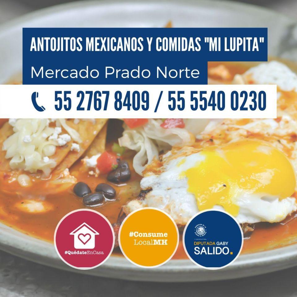 """Antojitos mexicanos y comidas """"Mi Lupita"""""""